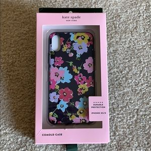Kate Spade jeweled wildflower iPhone case for XS/X